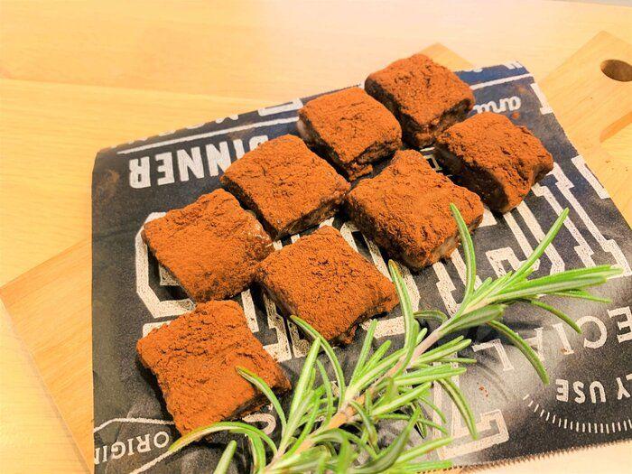 【生チョコもち】余ったお餅で手作りバレンタイン