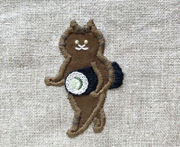 刺繍作家・SUIMINさんの刺繍作品