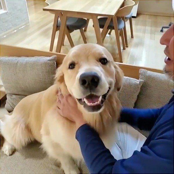 笑顔のアランくん