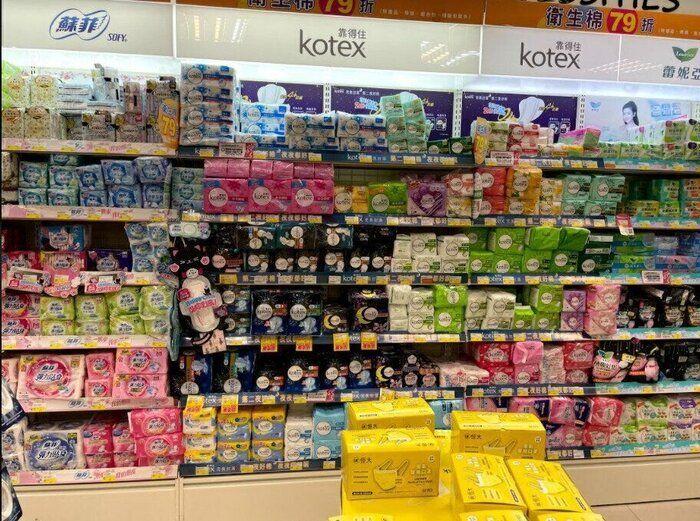 台湾では生理用品は父親が買ってくる!理由は…驚く、日本人ママ
