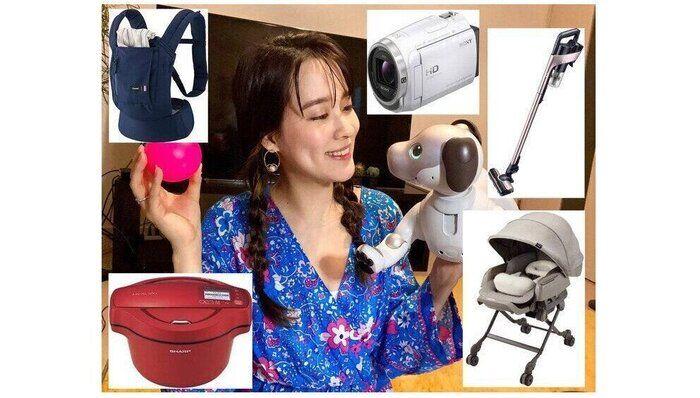 第1子妊娠、家電女優・奈津子 家電・ベビー用品を試せる「レンティオ」を自腹レポ、出産準備におすすめの理由は?