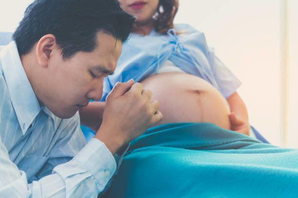 男の人は大きく夫妻の妊娠、出産が心配です。