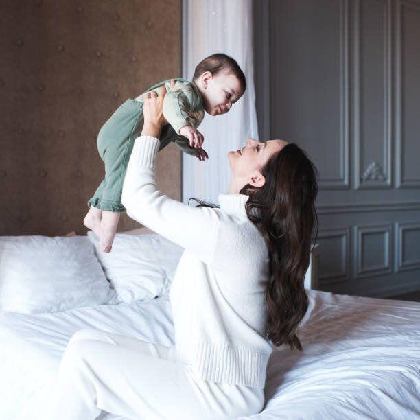 子供を持つ女性