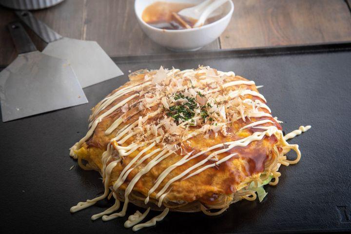 広島スタイルのお好み焼き、お好み焼き