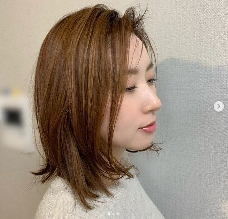 40代女性に似合う髪形 セミロング/ミディアムヘア