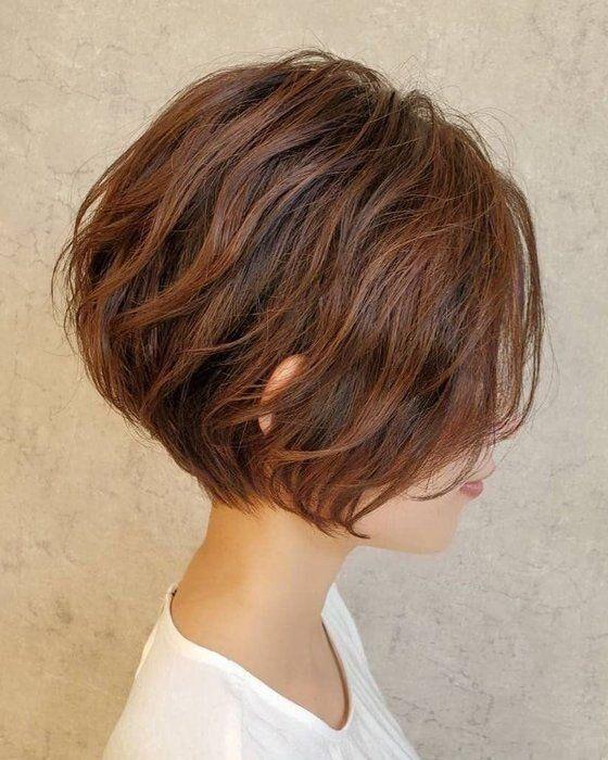 40代女性に似合う髪形 ボブヘア