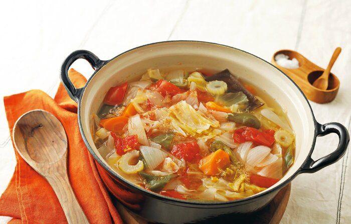 腹肉を今すぐ落としたい人必見!夕食の前にこのスープを7日間食べるべし!
